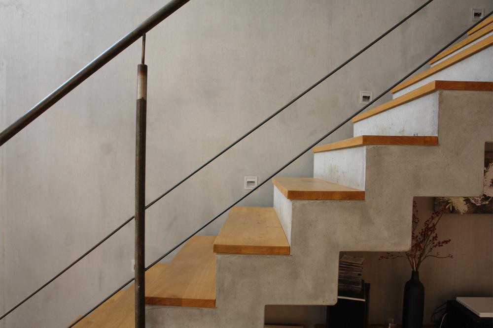 Treppe, Haus Q.
