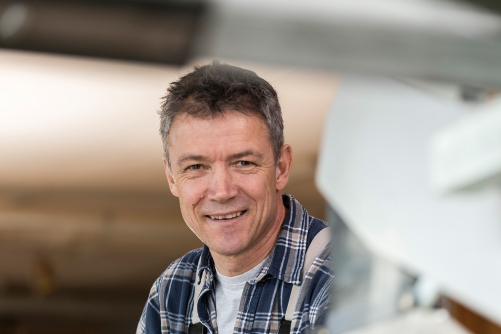 Reinhard Brunner, Werkstattmeister