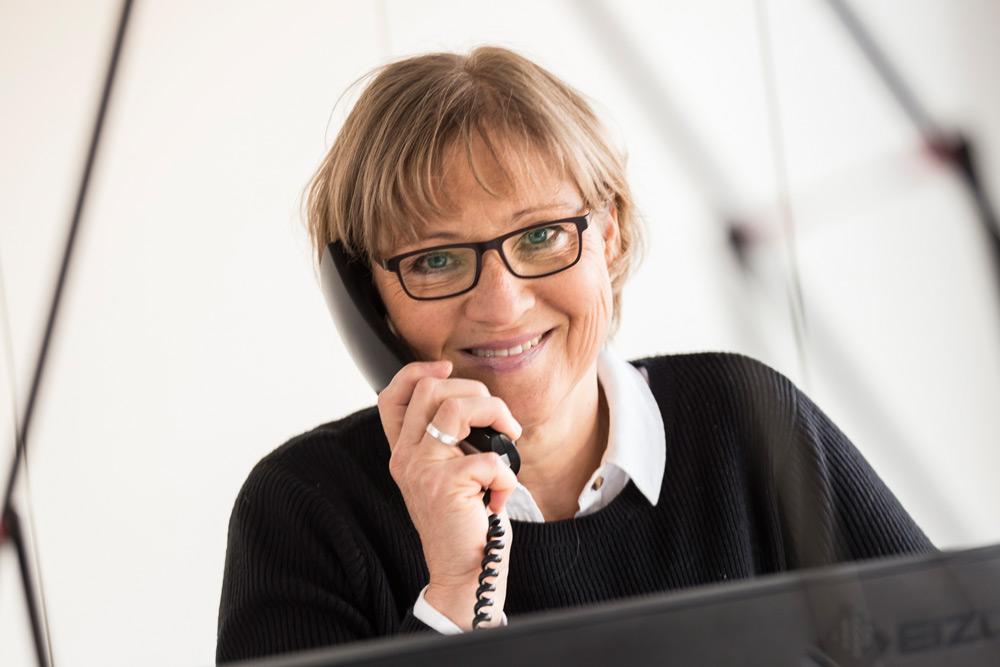 Martina Fehr, Büro